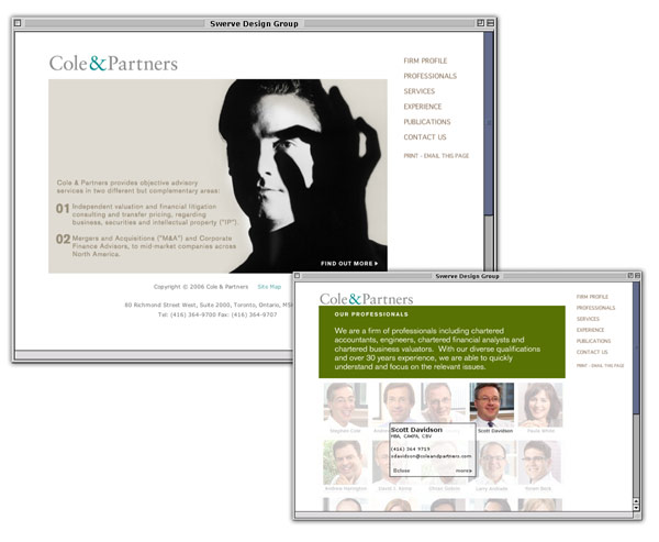 Cole &amp; Partners Site
