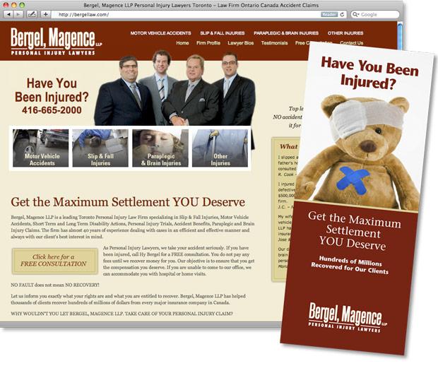 Web Site Amp Brochure For Bergel Magence Swerve Design