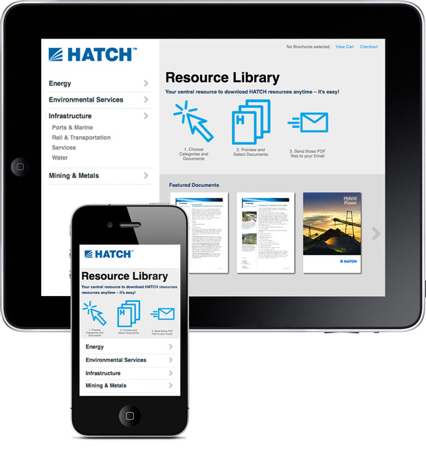 Hatch Brochure Web Site