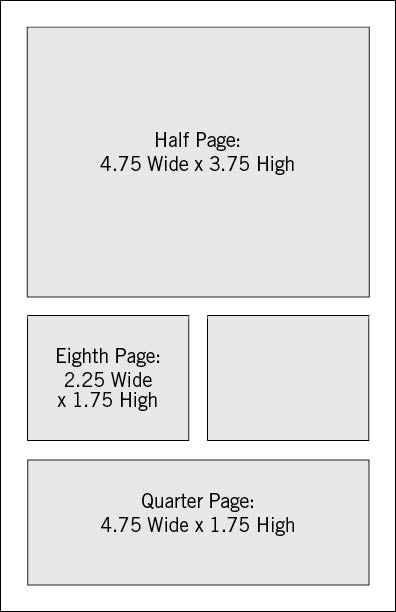 AMCTO ad sizes: small