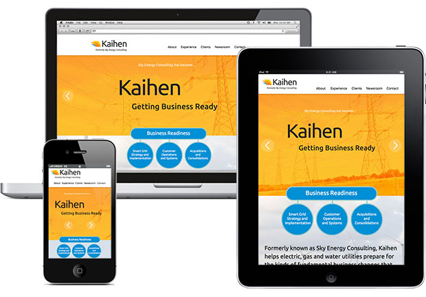 Kaihen website design
