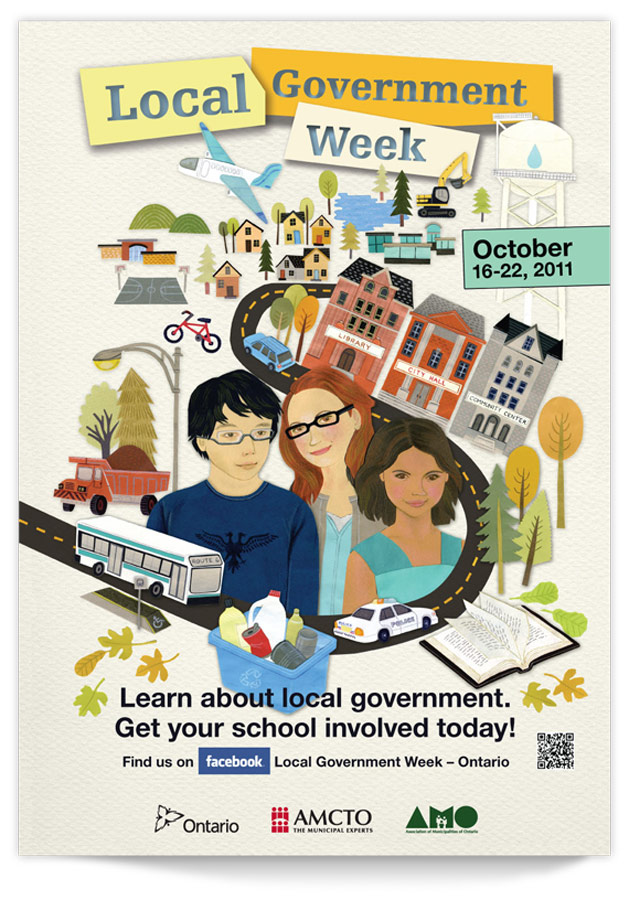 Local Gov't poster design by Swerve