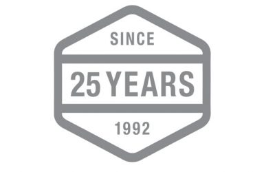 Anniversary Logo Design Helping Tigercat Celebrate 25 Years