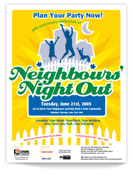 Neighbours Night Out 2005