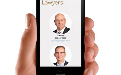 Law Firm Website Design for Thomas Gold Pettingill