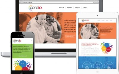 Website launch for Coreio