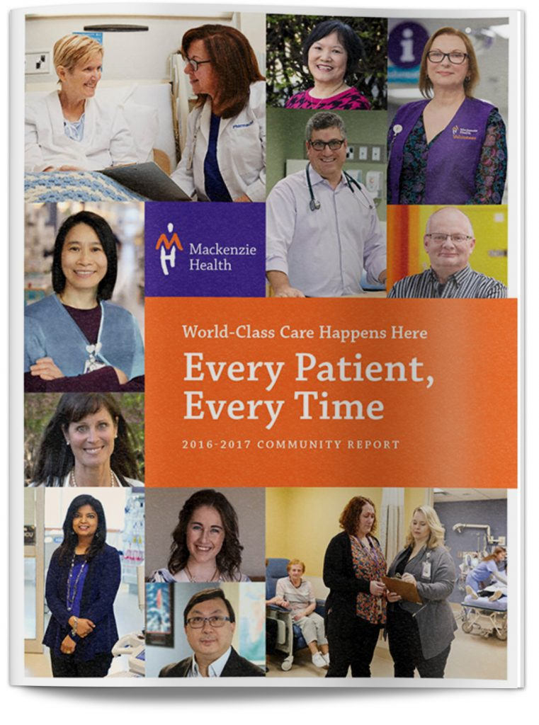 Mackenzie Health Community Report cover
