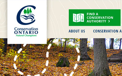 New website for Conservation Ontario