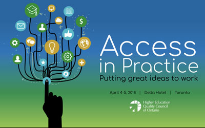 Conference Microsite design for Access in Practice