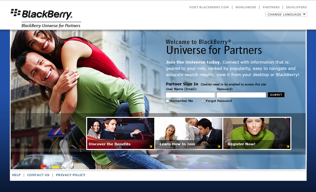 Blackberry partners home, designed by Swerve