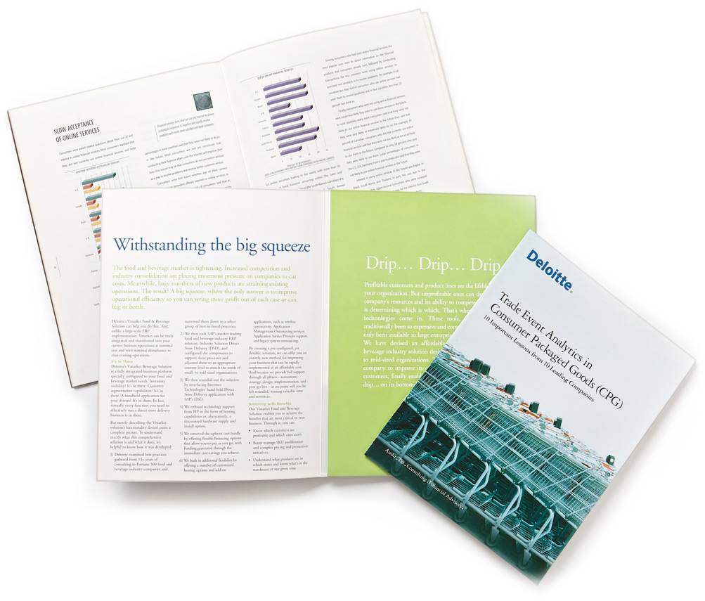 Brochure design by Swerve