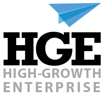 HGE logo design