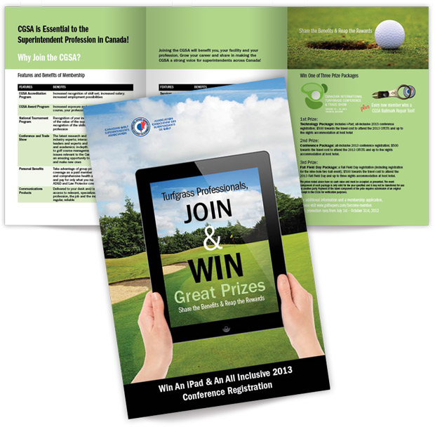 Join and Win recruit brochure