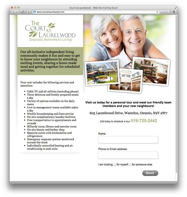 Website design by Swerve Design, Toronto