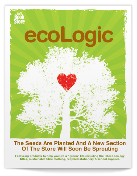 ecoLogic Poster for the UofT book store