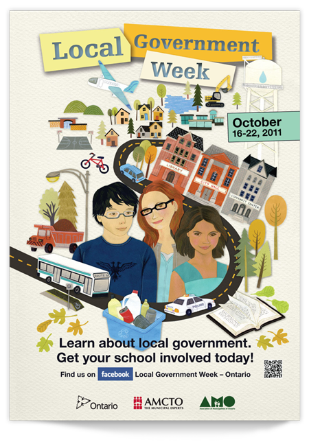 Poster design for Local Government Week