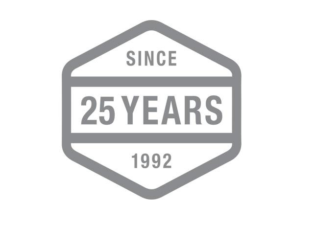 Anniversary logo design by Swerve