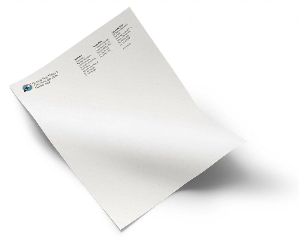 OFNTSC letterhead design