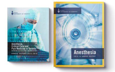 University of Toronto Annual Report Design