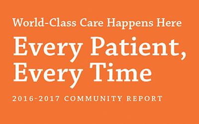 Community Report Design for Mackenzie Health