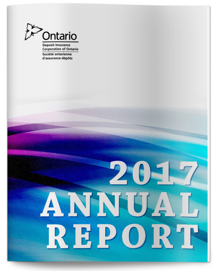 Deposit Insurance Corporation of Ontario 2017 annual report cover
