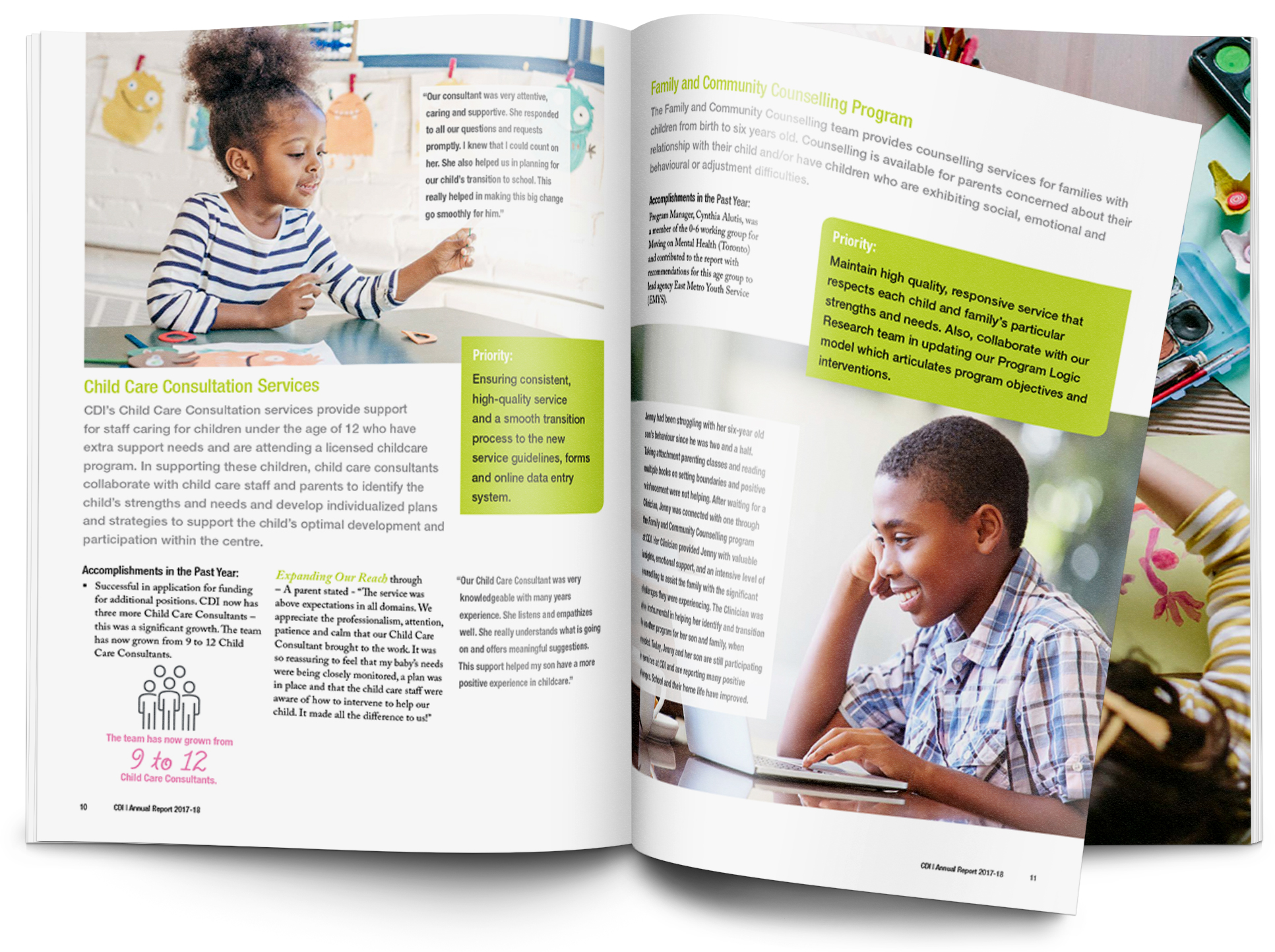 Child Development Institute annual report