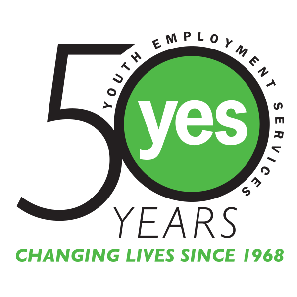 YES 50th logo