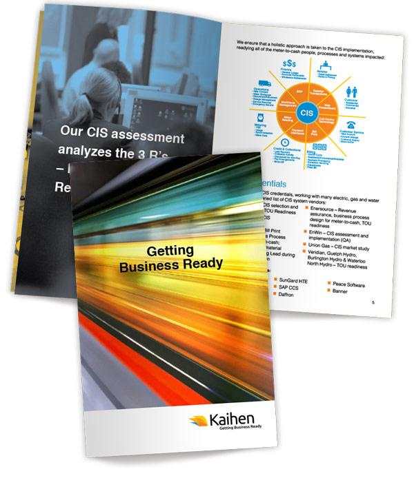 Conference brochure design