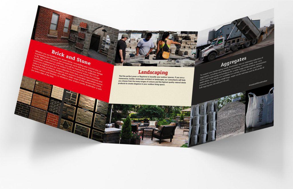 Kreitmaker brochure inside fold