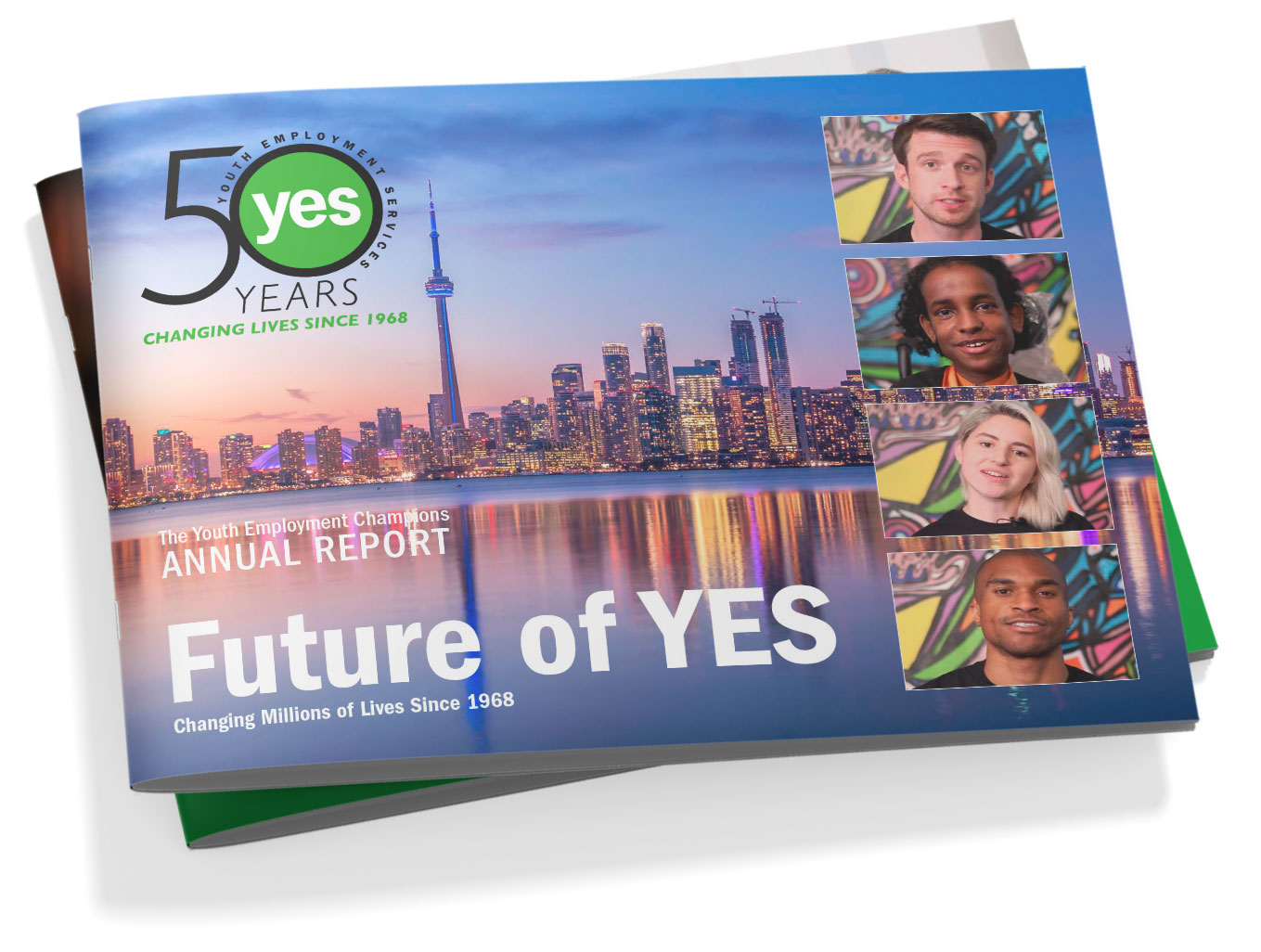 YES annual report design