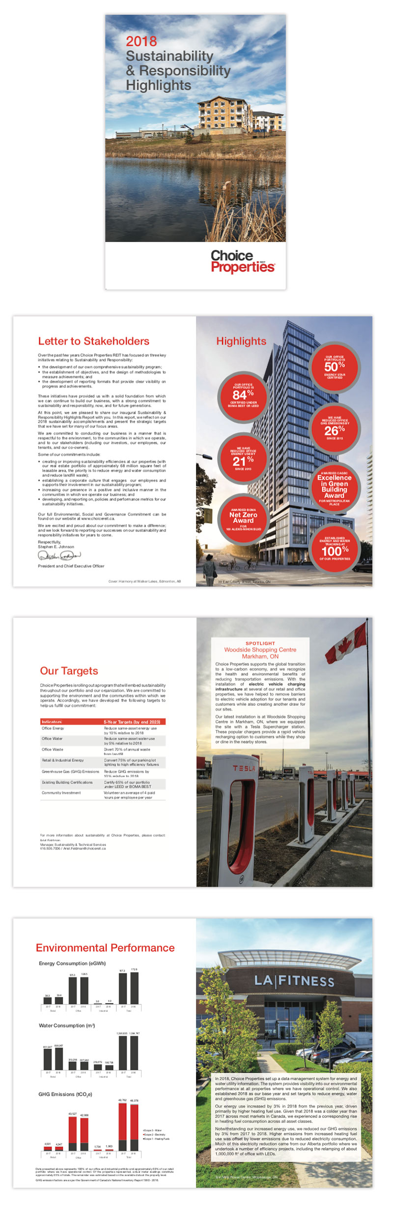 corporate sustainability brochure