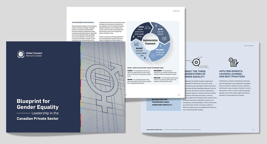 Global Compact Canada, report design