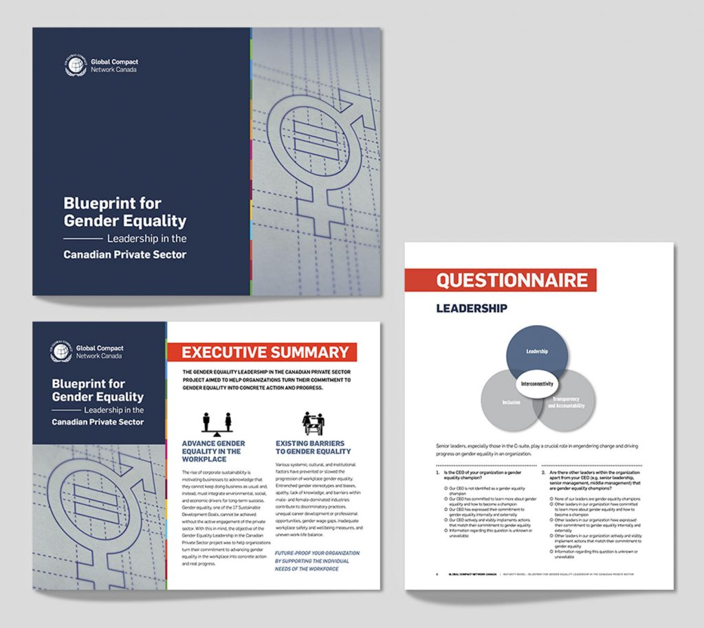 Gender Equality Report covers
