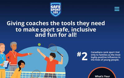 SafeSport Website Design