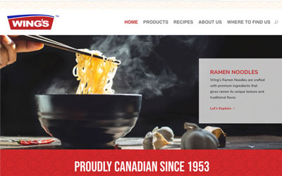 New Website for Wings